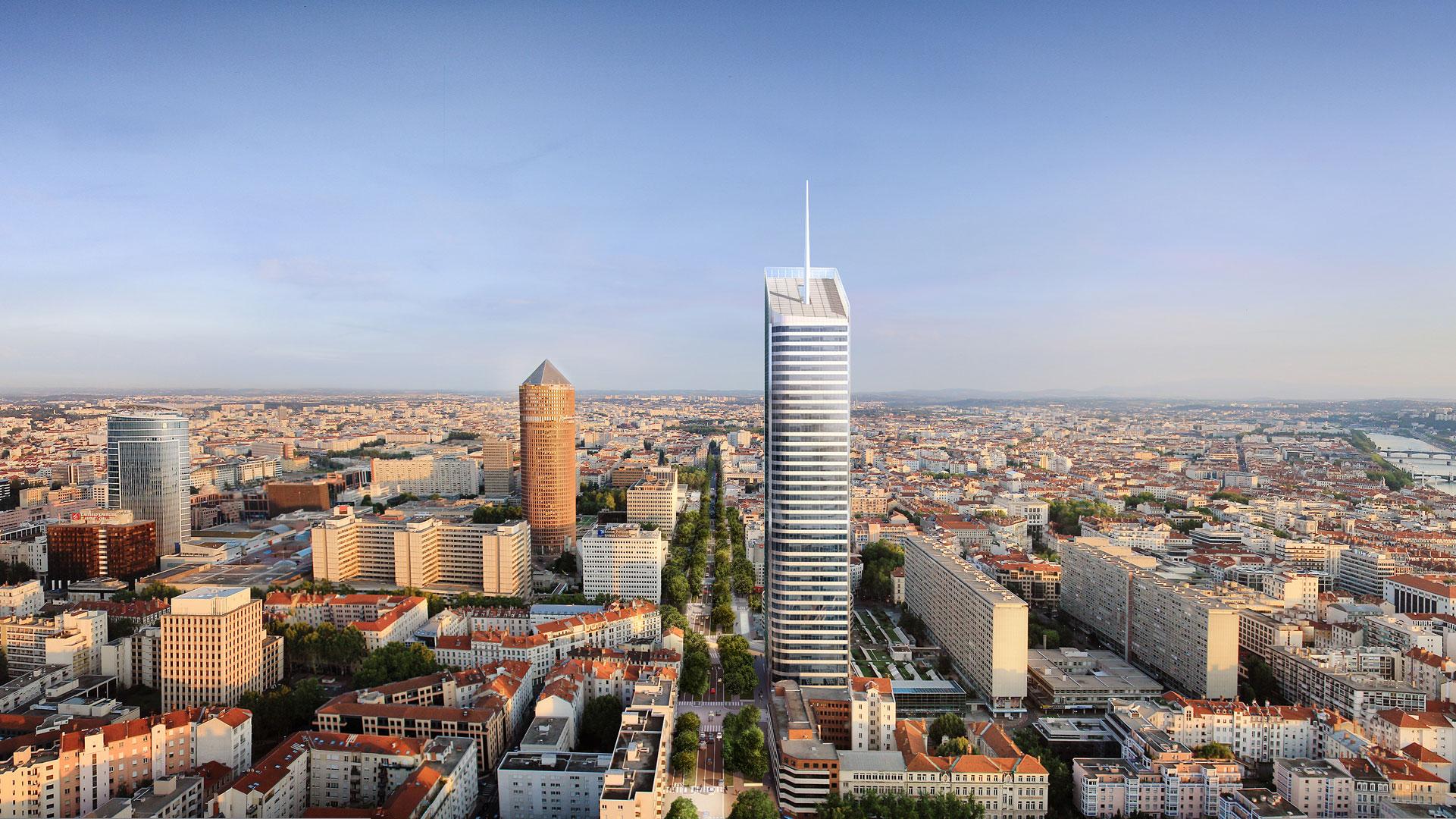 Tour-incity-Lyon-construite